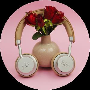 Kopfhörer zum Valentinstag statt Blumen oder Pralinen